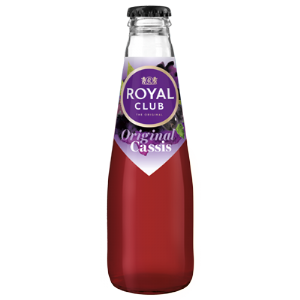 Royal club cassis krat 28x 20CL